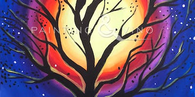 """Midnight Mother Tree"" Painting & Vino Event"