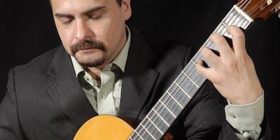 El Chivo Valladares en guitarra sola por Gervasio Sánchez