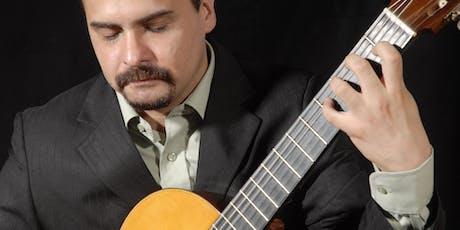 El Chivo Valladares en guitarra sola por Gervasio Sánchez entradas