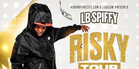 LB SPIFFY  Risky Tour - MONTREAL billets