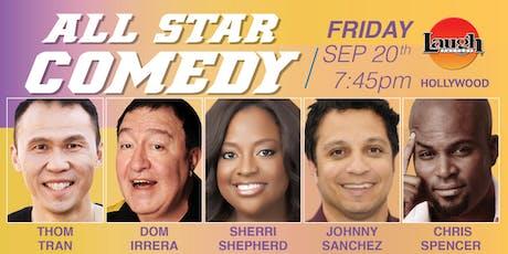 Sherri Shepherd, Dom Irrera, and more - All-Star Comedy! tickets