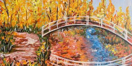 """Monet's Japanese Bridge"" Painting & Vino Event tickets"