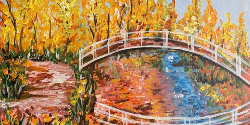 """Monet's Japanese Bridge"" Painting & Vino Event"