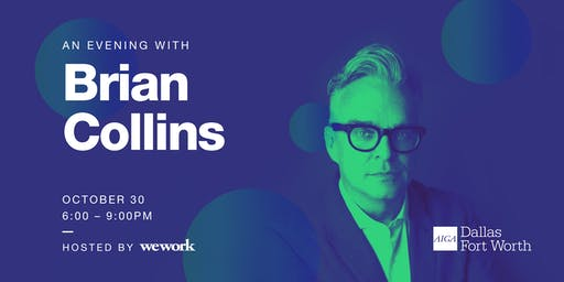 An Evening with Brian Collins