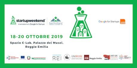 Techstars Startup Weekend Reggio Emilia 2019 biglietti