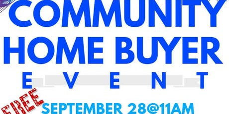 The Community Home Buyer Initiative tickets