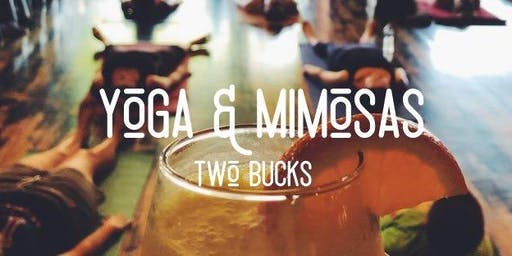 Yoga and Mimosas at Two Bucks Middleburg Heights
