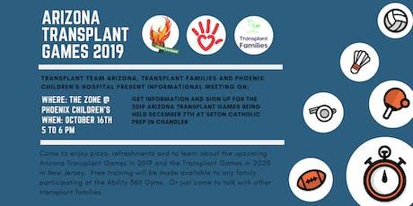 Arizona Transplant Games Information Meeting tickets