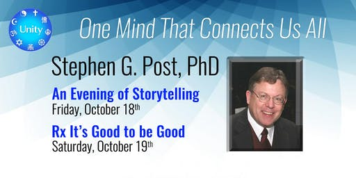 Dr. Steve Post—Rx: It's Good to Be Good
