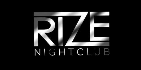 Fridays at Rize tickets