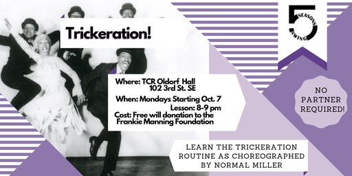 Norma Miller's Trickeration Routine! -  Lindy Hop Classes