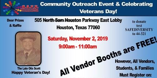 Community Outreach Event & Celebrating Our Veterans