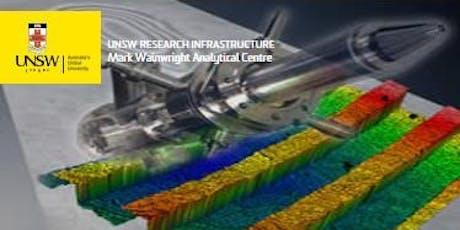 MWAC X-Ray Photoelectron Spectroscopy tickets