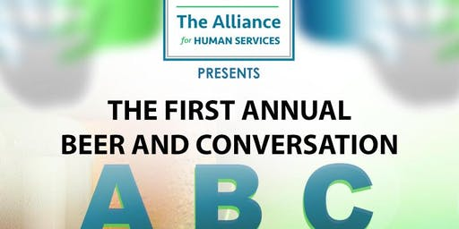 The Alliance for Human Services First Annual Beer and Conversation Event!