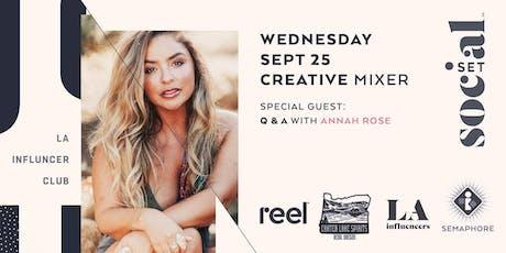 Creative Mixer at SocialSet Studio tickets