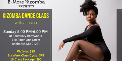 Kizomba Dance Class in Baltimore