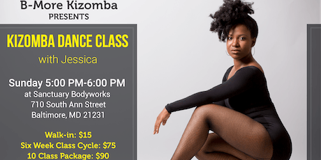 Kizomba Dance Class in Baltimore tickets