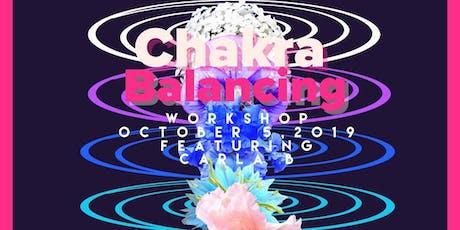 Chakra Balancing Worksop entradas