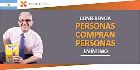 Conferencia de Ventas Consultivas. Personas compran Personas tickets