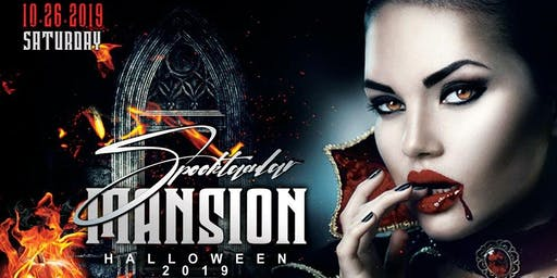 Spooktacular Mansion - Halloween Ball 2019