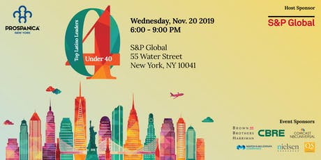 Top Latino Leaders Under 40, presented by Prospanica NY and S&P Global tickets