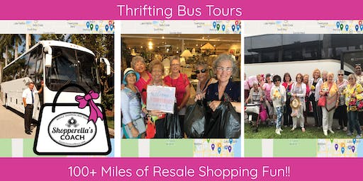 100+ Miles Thrifting Bus Tour - Board Ft. Laud/Pompano/Deerfield/Boca