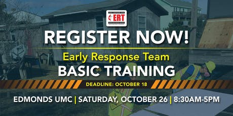 Early Response Team Basic Training - October 26, 2019 tickets