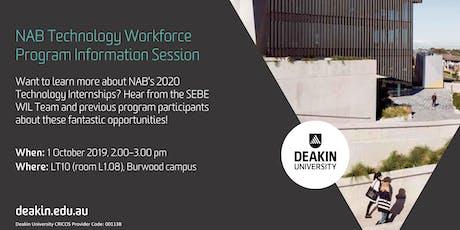 NAB 2020 Technology Workforce Program Information Session tickets