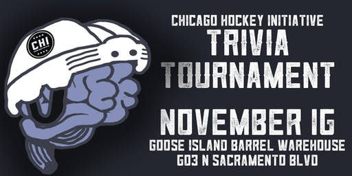 Chicago Hockey Initiative Trivia Tournament!