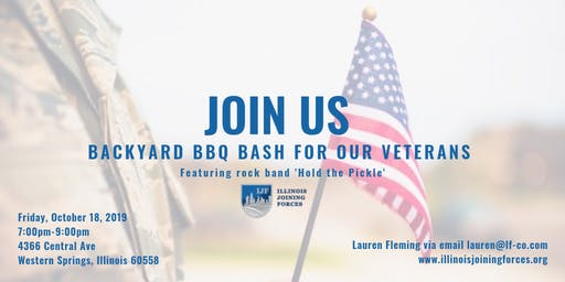Backyard BBQ Bash for Veterans