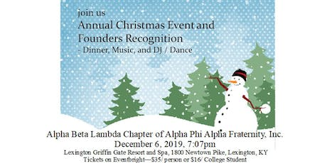Alpha Phi Alpha ABL Chapter Founders Day Recognition tickets