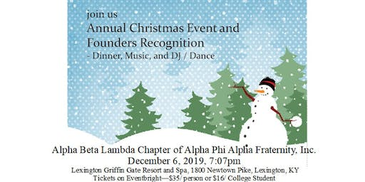 Alpha Phi Alpha ABL Chapter Founders Day Recognition