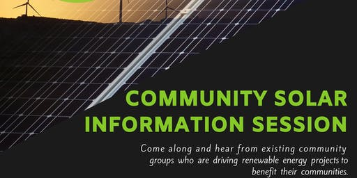 Community Solar Information Session - Moyne Shire