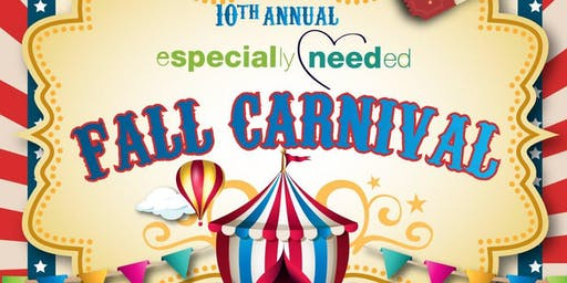 Especially Needed Fall Carnival Resource Fair 2019 - Vendor Registration
