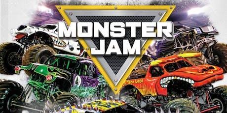 Monster Jam - Free for Children tickets