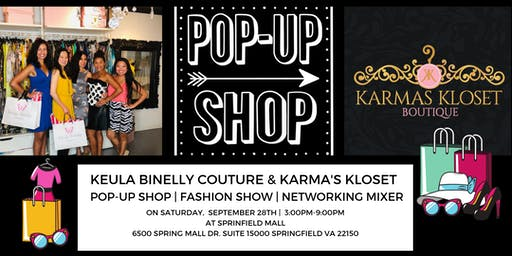 Keula Binelly Couture & Karma's Kloset Boutique Pop-Up Shop | Fashion Show
