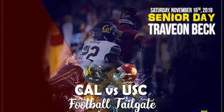CAL vs USC Football Game & Tailgate tickets