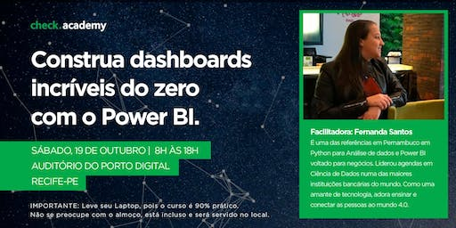 Construa dashboards incríveis do zero com o Power BI na prática!
