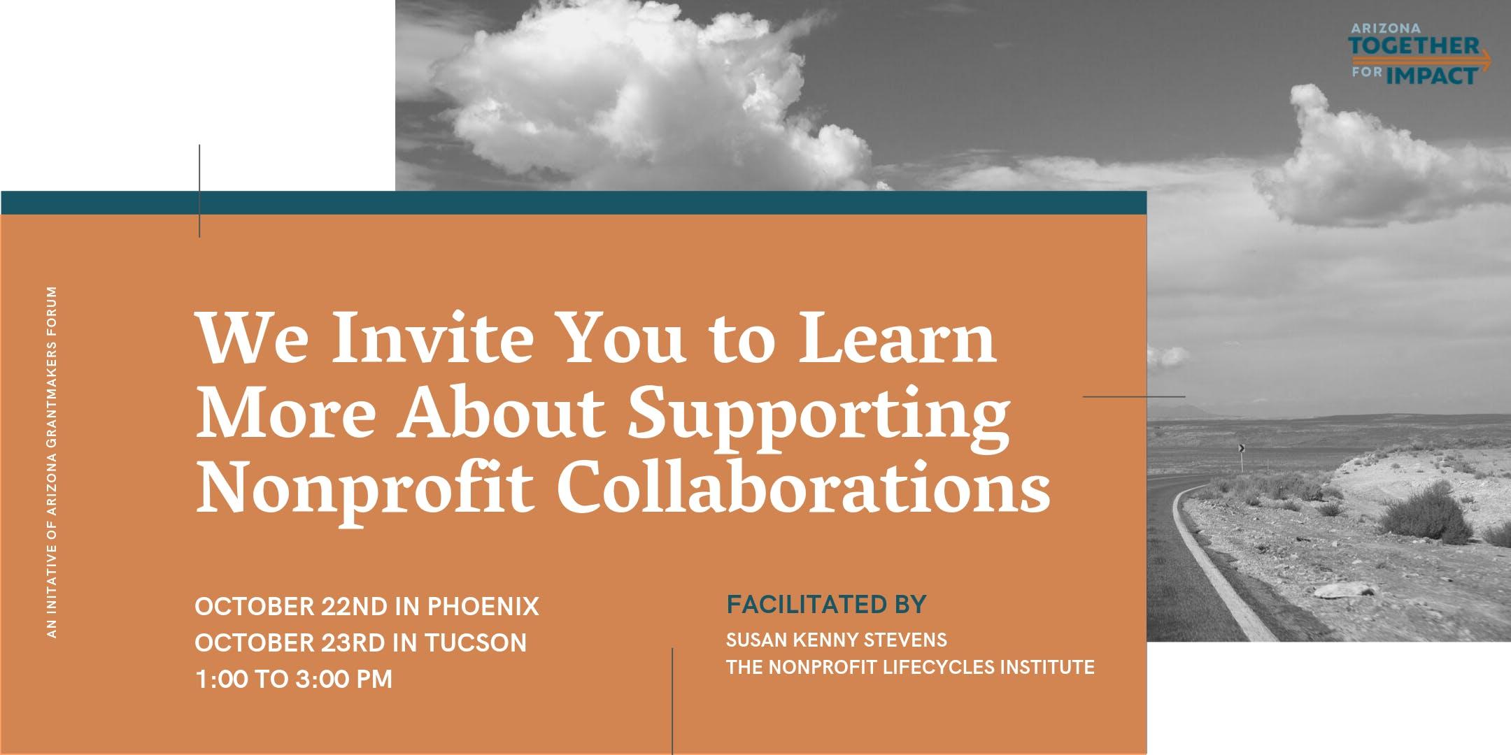 Nonprofit Collaboration Workshop—Phoenix