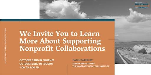 Nonprofit Collaboration Workshop—Tucson