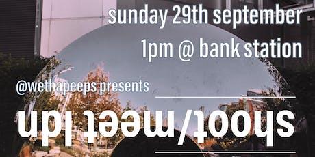shoot/meet ldn: september tickets