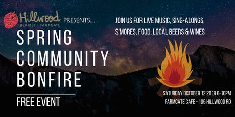 Spring Community Bonfire tickets