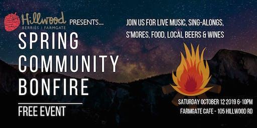 Spring Community Bonfire
