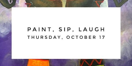 October: Paint, Sip, Laugh tickets