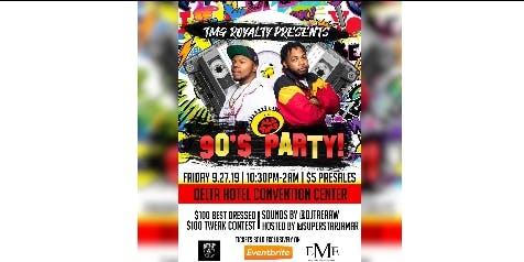 90'S Party WMU Vs CMU Weekend