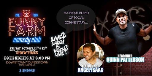 Live 2 Laugh 2 Live - A Night of Comedy at Funny Farm Comedy Club