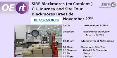 SIRF - Blackmores Continuous Improvement Journey  &  Site Tour
