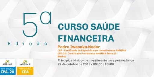 Curso Saúde Financeira - 5ª edição