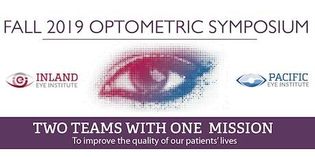 2019 Fall Optometric Symposium: Nov. 7, 5:30-10pm, Free Registration tickets