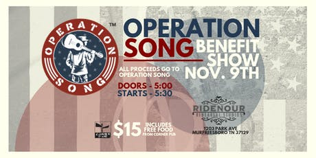Operation Song Benefit Show tickets